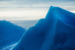 Blue ice in Svalbard