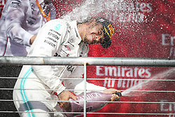 November 3, 2019, Austin, United States of America: Motorsports: FIA Formula One World Championship 2019, Grand Prix of United States, ..#44 Lewis Hamilton (GBR, Mercedes AMG Petronas Motorsport) (Credit Image: © Hoch Zwei via ZUMA Wire)