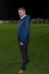 Bristol Academy Womens manager, Dave Edmondson smiles - Photo mandatory by-line: Dougie Allward/JMP - Mobile: 07966 386802 - 13/11/2014 - SPORT - Football - Bristol - Ashton Gate - Bristol Academy Womens FC v FC Barcelona - Women's Champions League