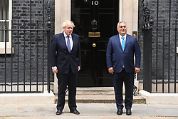 © Licensed to London News Pictures. 28/05/2021. London, UK. The Prime Minister of Hungary VIKTOR ORBAN meets British Prime Minister Boris Johnson at Downing Street for talks. Photo credit: Ray Tang/LNP