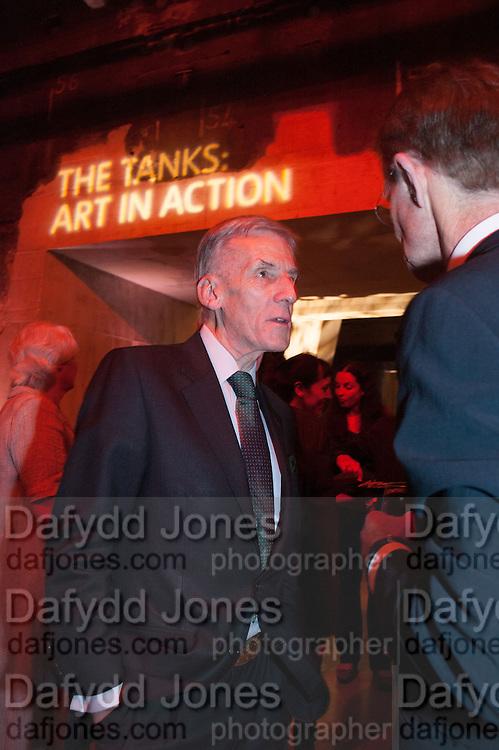 CHRISTOPHER JONAS;, The Tanks at Tate Modern, opening. Tate Modern, Bankside, London, 16 July 2012