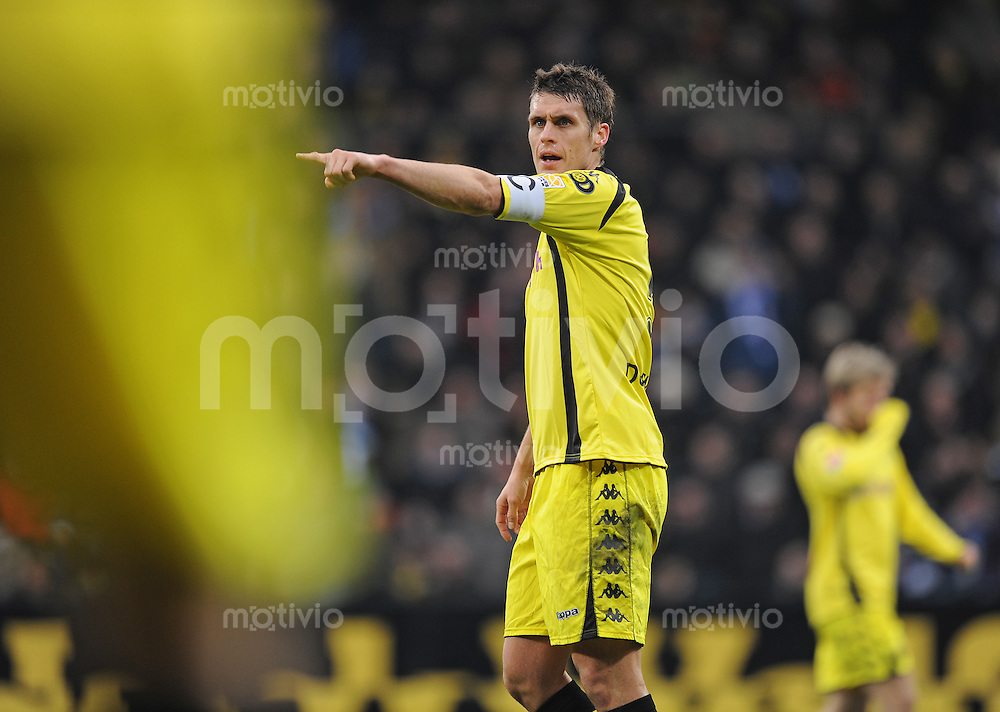Fussball Bundesliga Saison 2009/2010 VFL Bochum - Borussia Dortmund Sebastian KEHL (BVB).