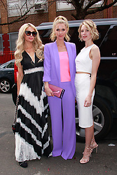 Alice + Olivia NYFW 2019 presentation on February 11, 2019 in New York City. CAP/MPI/DC ©DC/MPI/Capital Pictures. 11 Feb 2019 Pictured: Paris Hilton, Nicky Hilton Rothschild and Tessa Hilton. Photo credit: DC/MPI/Capital Pictures / MEGA TheMegaAgency.com +1 888 505 6342