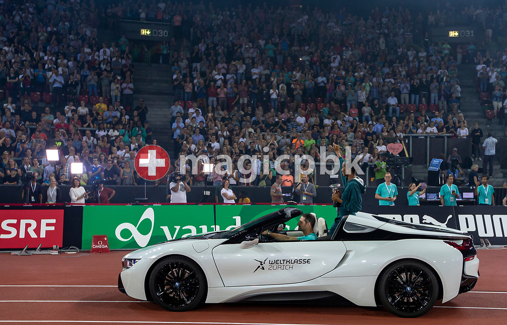 Lap of honor during the Iaaf Diamond League meeting (Weltklasse Zuerich) at the Letzigrund Stadium in Zurich, Switzerland, Thursday, Aug. 29, 2019. (Photo by Patrick B. Kraemer / MAGICPBK)