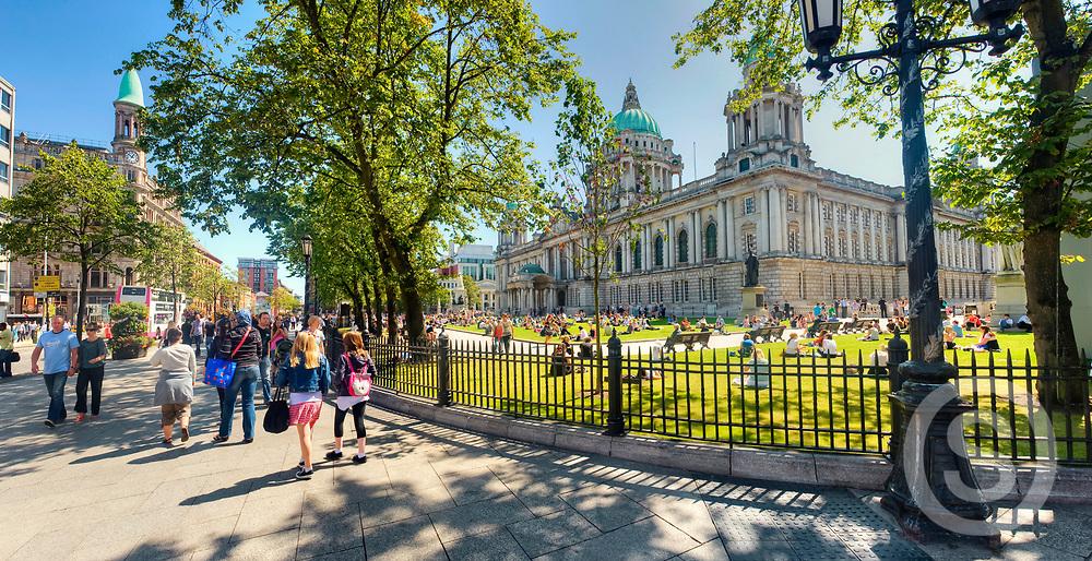 Photographer: Chris Hill, Belfast, City Hall