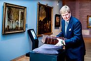 Koning Willem-Alexander is aanwezig bij de start van 'Ode aan de Synode', de viering van 400 jaar Sy