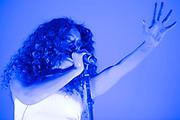 Solange plays the Obelisk Arena -The 2018 Latitude Festival, Henham Park. Suffolk 13 July 2018