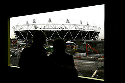 Olympic bosses back West Ham bid, West Ham have won the backing of Olympic bosses to take over the 2012 stadium in east London after the Games, BBC London reports.© under license to London News Pictures. .2010,12,10,   Today  (Friday)  .The Olympic Stadium being built in Stratford, East London, will host the Athletics and Paralympic Athletics events at the London 2012 Games, as well as the Opening and Closing Ceremonies..A view from the view tube building .Picture credit should read Grant Falvey/London News Pictures...