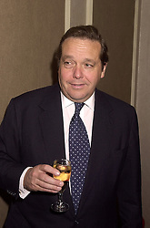 VISCOUNT CRANBORNE at a luncheon in London on 18th October 2000.<br /> OHZ 42