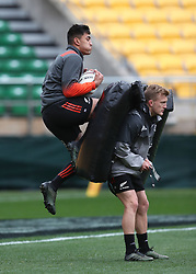 New Zealand's Rieko Ioane during the captain's run at the Westpac Stadium, Wellington.