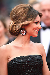 Cheryl Cole arriving at the Palais des Festivals for the screening of the film The Foxcatcher as part of the 67th Cannes Film Festival in Cannes, France on May 19, 2014. Photo by Lionel Hahn/ABACAPRESS.COM