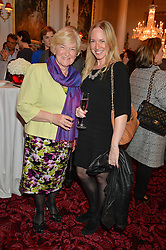 ROSIE NIXON and her mother at the Audi Ballet Evening at The Royal Opera House, Covent Garden, London on 23rd April 2015.