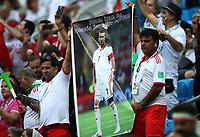 Football - 2018 FIFA World Cup - Group B: Morocco vs. Iran<br /> <br /> Iran fans are seen at Krestovsky Stadium, Saint Petersburg.<br /> <br /> COLORSPORT/IAN MACNICOL