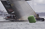 Team New Zealand race Alinghi for the last time in the 31st America's Cup. 2/3/2003  (© Chris Cameron 2003)