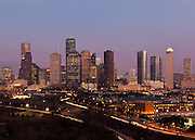 Downtown Houston, Texas.