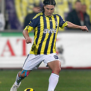 Fenerbahce's Mehmet TOPUZ during their Turkish Superleague Derby match Besiktas between Fenerbahce at the Inonu Stadium at Dolmabahce in Istanbul Turkey on Sunday, 20 February 2011. Photo by TURKPIX