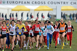 08-12-2013 ATHLETICS: SPAR EC CROSS COUNTRY: BELGRADE<br /> Start junior women 4 km / Jip Vastenburg die 21ste wordt in een tijd van 13.55<br /> ©2013-WWW.FOTOHOOGENDOORN.NL