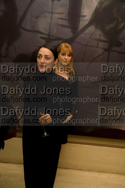 CELINE PAPON AND THE DUCHESS OF YORK, Presentation of the Beauty of Palazzo Tornabuoni,  Florence. Robilant & Voena Gallery. Dover st. London. 20 May 2008 *** Local Caption *** -DO NOT ARCHIVE-© Copyright Photograph by Dafydd Jones. 248 Clapham Rd. London SW9 0PZ. Tel 0207 820 0771. www.dafjones.com.