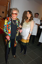 Left to right, BEATRICE MILLER former editor of Vogue and ALEXANDRA SHULMAN current editor of Vogue at a party to celebrate the 90th birthday of Vogue magazine held at The Serpentine Gallery, Kensington Gardens, London on 8th November 2006.<br /><br />NON EXCLUSIVE - WORLD RIGHTS