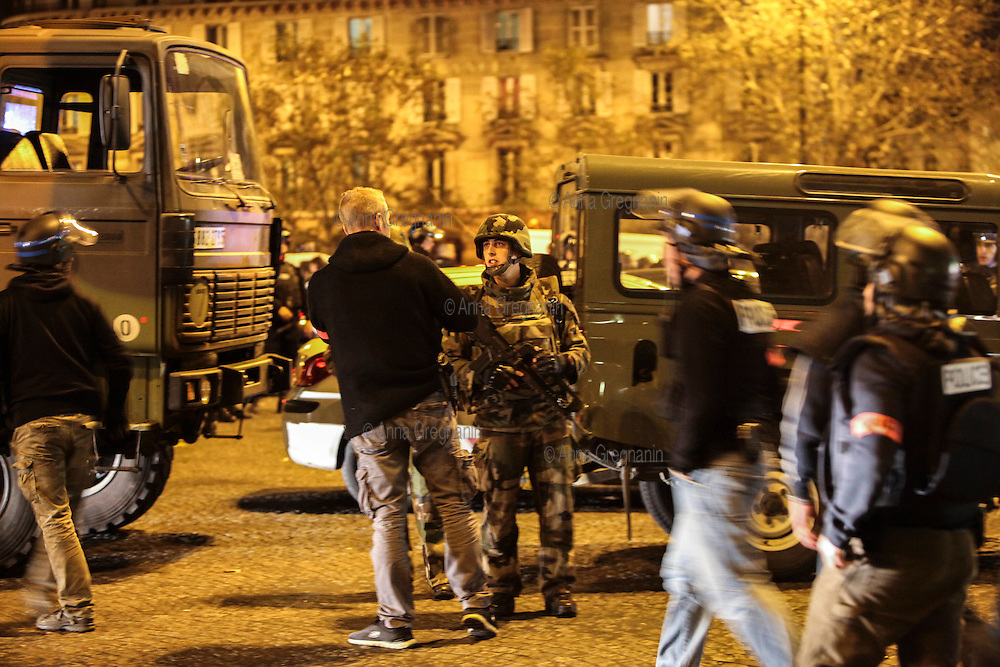 14/11/2015 Attentati a Parigi.