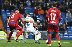January 10, 2018 - Madrid, Madrid, Spain - Daniel Carvajal (defender; Real Madrid) during Copa del Rey match between Real Madrid and Numancia, Round 8 match, at Santiago Bernabeu on January 10, 2018 in Madrid (Credit Image: © Jack Abuin via ZUMA Wire)