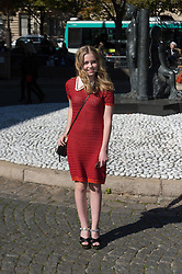 Angourie Rice attending the Miu Miu's Spring-Summer 2016/2017 Ready-To-Wear collection show in Paris, France, on October 5, 2016. Photo by Nicolas Genin/ABACAPRESS.COM