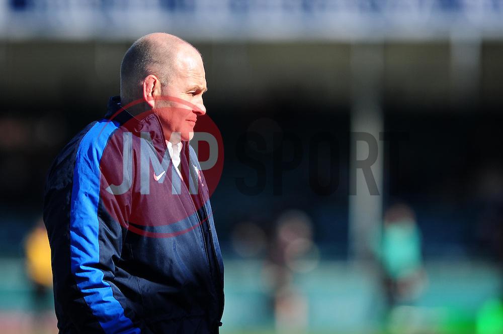 Andy Robinson - Photo mandatory by-line: Dougie Allward/JMP - Tel: Mobile: 07966 386802 31/03/2013 - SPORT - RUGBY - Memorial Stadium - Bristol. Bristol v Plymouth Albion - RFU Championship.