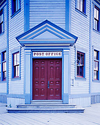 Post Office, first substantial building erected by the goverment of Canada in 1900 during the gold rush at Dawson City, Yukon Territory, Canada.