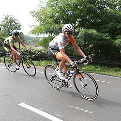 01-09-2016: Wielrennen: Ladies Tour: Sittard       <br />SITTARD (NED) wielrennen  <br />Roxane Kneteman, Esra Tromp op de Snijdersberg