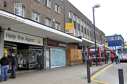 Recession hits the UK high street, Bradford, West Yorkshire