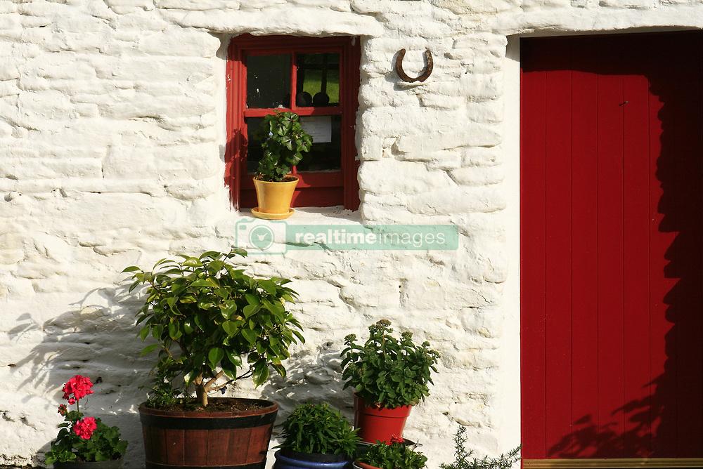 July 21, 2019 - Traditional Farm Door, Dingle, County Kerry, Ireland (Credit Image: © Peter Zoeller/Design Pics via ZUMA Wire)