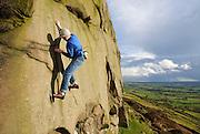 John Coefield on Persistence, 6b, Five Clouds