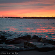 Cape May Cove Sunset