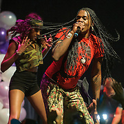 """WASHINGTON, DC - October 2nd, 2014 - Big Freedia  performs at the Howard Theatre in Washington, D.C.  Freedia is credited with bringing New Orleans """"bounce music"""" to the masses. His latest album, Just Be Free, was released in June. (Photo by Kyle Gustafson/For The Washington Post)"""