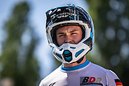2021 UCI BMXSX World Cup<br /> Round 2 at Verona (Italy)<br /> 1/16 Finals<br /> ^me#227 WEBSTER, Liam (GER, ME) Moto-Sheets