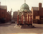 Old Dublin Amature Photos March 1984 WITH, Butchers shop, Parkgate st, Harrolds Cross, Terenure Alleyways, Reginald St, Long Mile Rd, Church, blessed virgin statue,