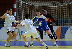 02-12-2012 HANDBAL: SLOVENIE - ISRAEL: APELDOORN .WK Kwalificatie toernooi WK 2013 Omnisportcentrum Apeldoorn / Teja Ferfolja.©2012-FotoHoogendoorn.nl. (Photo by Ronald Hoogendoorn / Sportida)