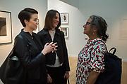 KATHLEEN FOX-DAVIES; ANNA KIRRAGE, JONI STERNBACHParis Photo. 9 November 2018