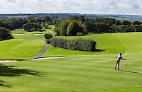 SAINT OMER (France) - Hole 18. AA Saint-Omer Golf Club. Copyright Koen Suyk