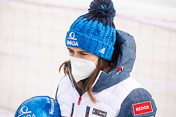 Petra Vlhova (SVK) during 2nd Run of Ladies' Giant Slalom at 57th Golden Fox event at Audi FIS Ski World Cup 2020/21, on January 17, 2021 in Podkoren, Kranjska Gora, Slovenia. Photo by Vid Ponikvar / Sportida
