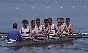 Lucerne, SWITZERLAND  GBR  LM 8+.1992 FISA World Cup Regatta, Lucerne. Lake Rotsee.  [Mandatory Credit: Peter Spurrier: Intersport Images] 1992 Lucerne International Regatta and World Cup, Switzerland