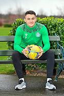 Kyle Magennis (#7) of Hibernian FC during the Hibernian press conference and training session at Hibernian Training Centre, Ormiston, Scotland on 18 December 2020.