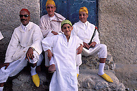 Moussem of Moulay Idriss - Town of Moulay Idriss - Moulay Idris was Morocco founder - Meknes area - Morocco