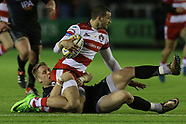 Newcastle Falcons v Gloucester Rugby 070417