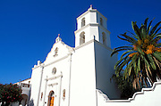 """Mission San Luis Rey de Francia (""""King of the Missions""""), San Luis Rey, California USA"""