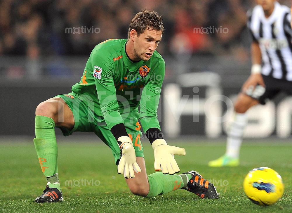 FUSSBALL INTERNATIONAL   SERIE A   SAISON 2011/2012    AS Rom - Juventus Turin  12.12.2011 Stekelenburg Maarten (AS Rom)