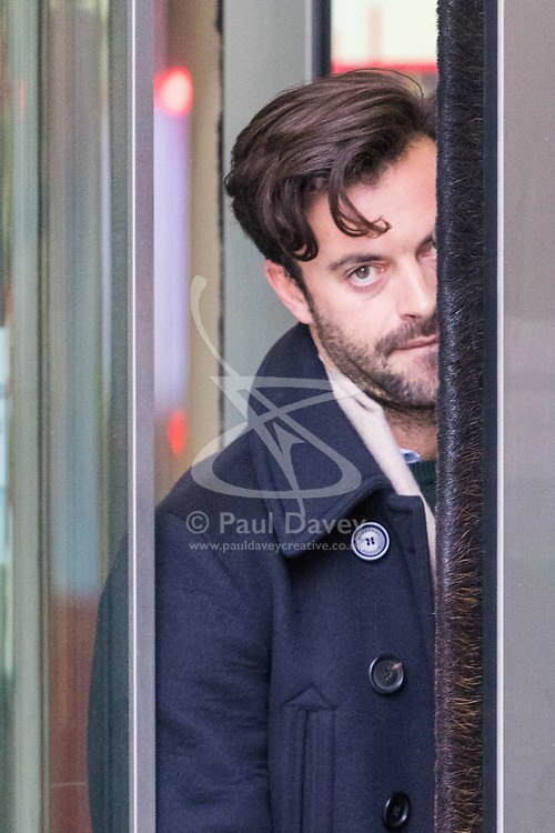 London, January 14 2018. Political satirist and comedian Jolyon Rubinstein at the BBC's New Broadcasting House in London.. © Paul Davey