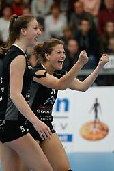 20180425 NED: Eredivisie Sliedrecht Sport - Coolen Alterno, Sliedrecht <br />(L-R) Kristy Beyazkaya (11) of Coolen Alterno<br />©2018-FotoHoogendoorn.nl / Pim Waslander