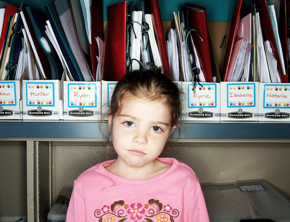 Casey Brennan's kindergarten class at Hopkins Elementary School in Sherwood on Wednesday, May 23, 2012.