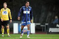 Fotball<br /> Tippeligaen Eliteserien<br /> Nadderud Stadion 15.10.06<br /> Foto: Kasper Wikestad<br /> <br /> Stabæk - IK Start<br /> Daniel Nannskog roper ut i sinne / frustrasjon